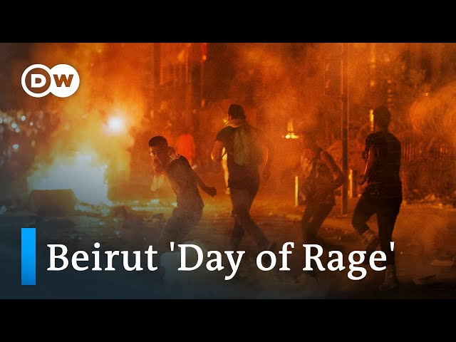 Beirut anti-government protests turn violent | DW News