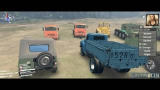SpinTires -Mod Cabin Camera With Driver 17.11.16 /v03.03.16