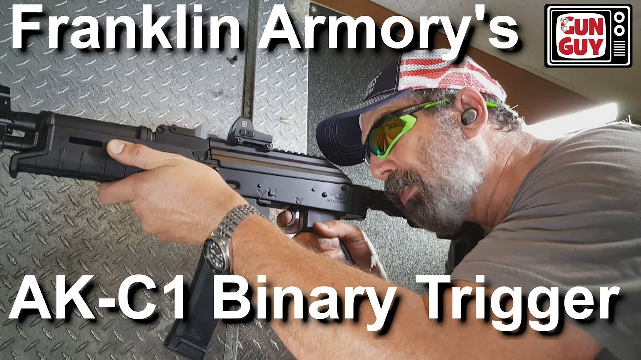 Shooting FAST with the Franklin Armory AK C1 Binary Trigger