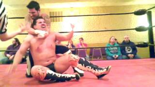 Jon Webb vs C J Shine: Buckley Cup Qualifier (From Dynamo Pro. Feb 25th 2017)