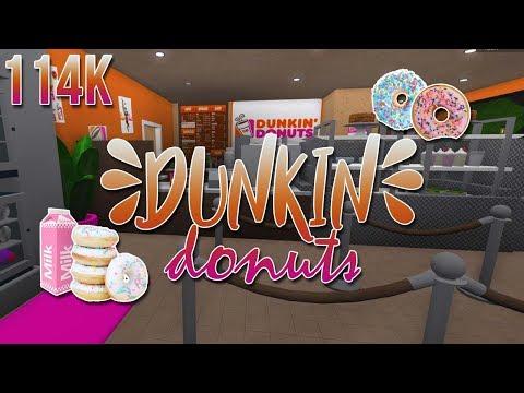 ROBLOX | Welcome to Bloxburg: Dunkin' Donuts