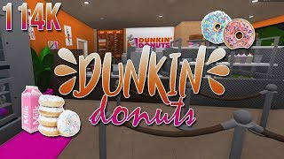 ROBLOX | Welcome to Bloxburg: Dunkin' Donuts 114k