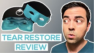 TearRestore Mask Review and Unboxing   Best Dry Eye Warm Compress for MGD Treatment   IntroWellness