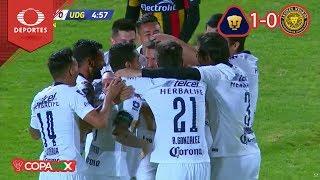 ¡Pumas está en Octavos! | Pumas 2 - 1 U. de G. | Copa Mx - J6 - Cl 19 | Televisa Deportes