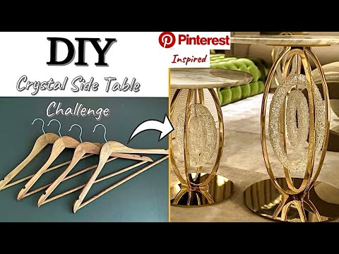 HOW TO USE HANGERS FOR SIDE TABLES| DIY PROJECTS| DIY TABLE