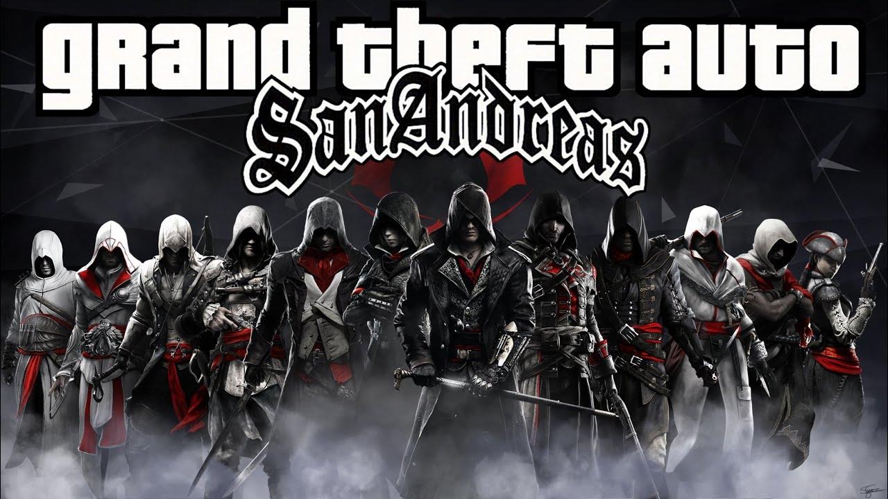 GTA San Andreas Assassin's Creed Skin Pack (MEGA Links)
