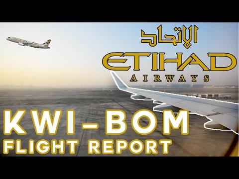 ✈ (Flight Report) Etihad A320/1 Economy - Kuwait to Mumbai via AUH (HD) #5