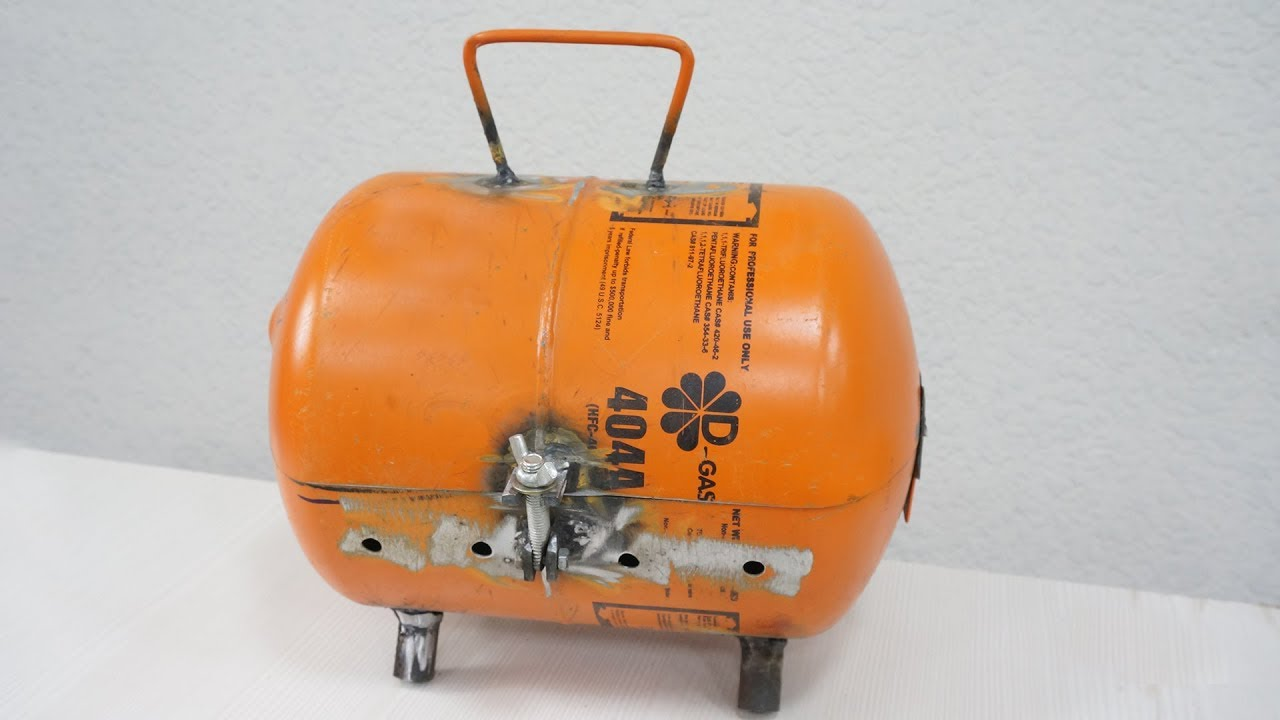 what is the freon cylinder capable useful homemade