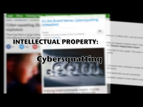 Cybersquatting. Scam or reality?