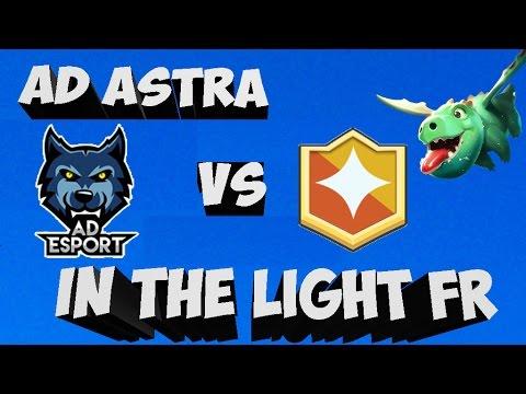 AD ESPORT VS INTHELIGHT FR CLAN WAR !