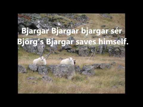 Icelandic word plays