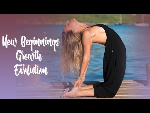 Yoga Practice for New Beginnings, Growth, and Evolution