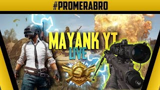 Conquerer Gameplay - PUBG MOBILE - MAYANKYT