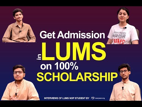 LUMS NOP students Interview