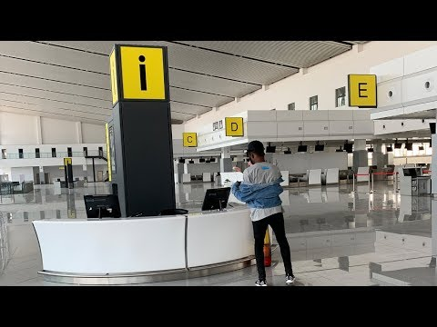 THE NEW ABUJA AIRPORT INTERNATIONAL TERMINAL | LARGEST AIRPORT TERMINAL IN WEST AFRICA