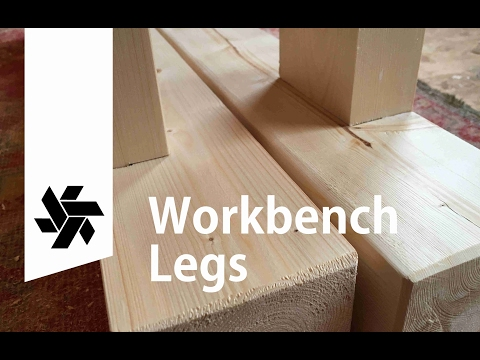 Woodworking bench part 2 (legs)