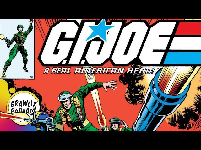 Classic G.I. Joe Comics | Grawlix Podcast #86 Poll List Review