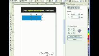 Como Duplicar objetos no Corel Draw - por Christiane Designe