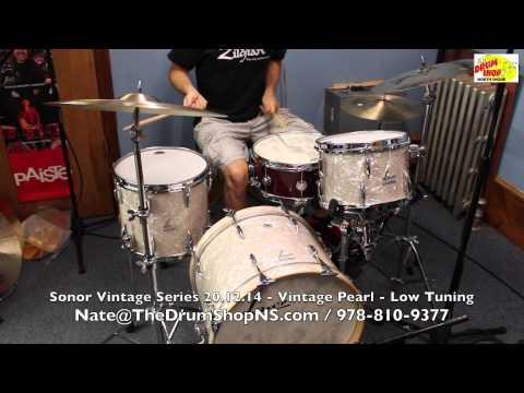 Sonor Vintage Series 20.12.14 - Vintage Pearl - The Drum Shop North Shore