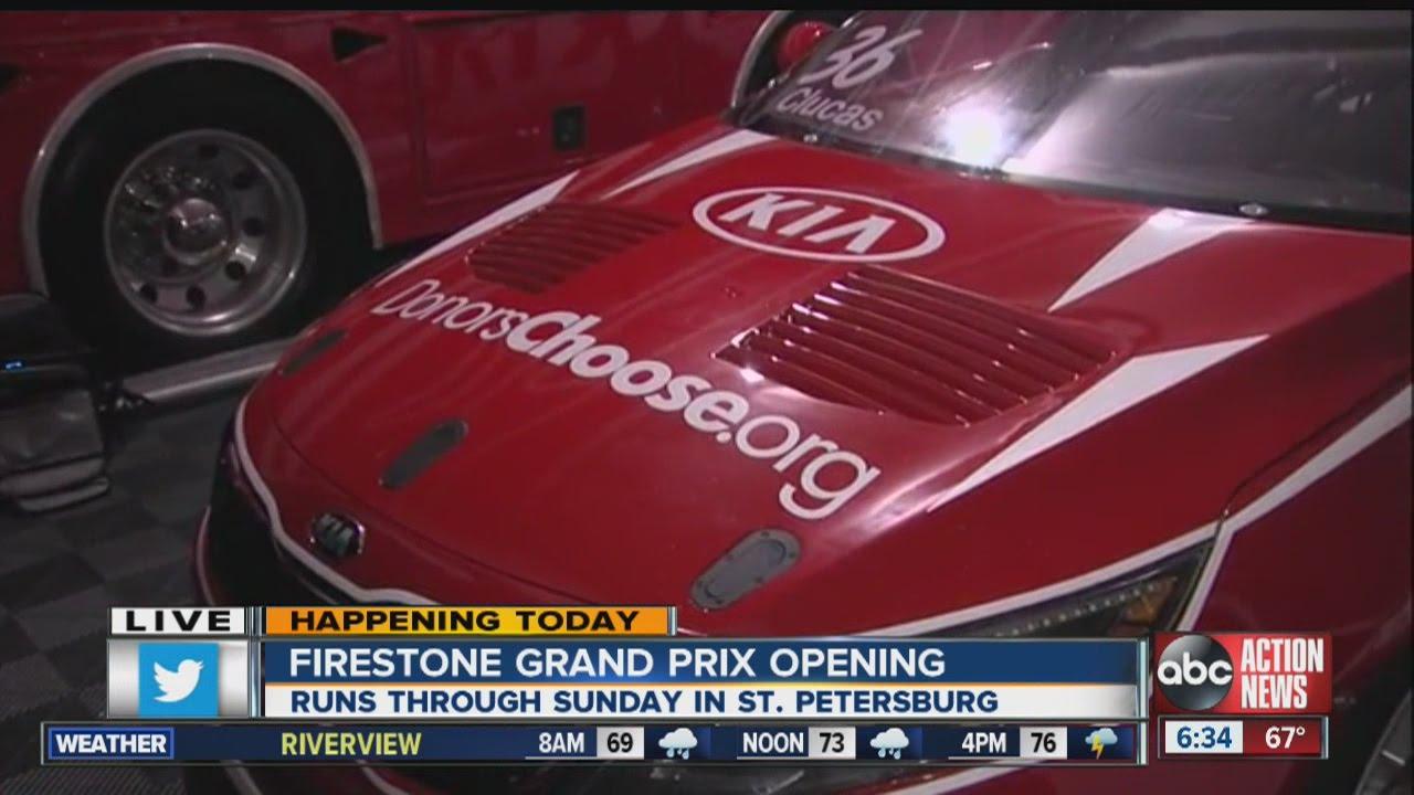 Firestone Hours Sunday >> 2015 Firestone Grand Prix Of St Petersburg Begins Friday