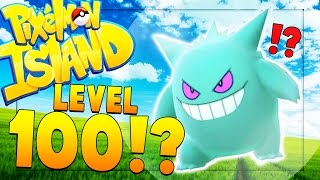 MAX LEVEL 100 POKEMON - Minecraft Pixelmon Island SMP - Pokemon GO MOD