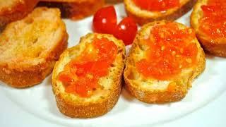 Тосты с помидорами . Так просто,но очень вкусно)