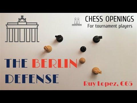 Ruy Lopez - Berlin Defense ⎸Chess Openings