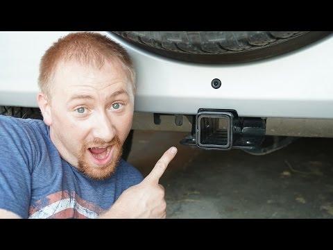 Jeep Wrangler JK Receiver Hitch Install