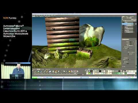Autodesk Entertainment Creation Suite 2011 at GDC2010