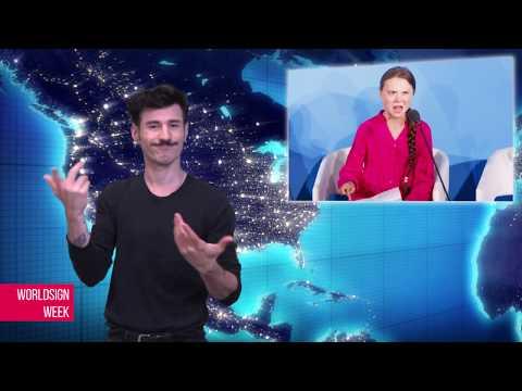 WORLDSIGN | Production Of Boeing Halted, UK Johnson Elected PM, Deaf ASL Teacher Sues Angelina Jolie