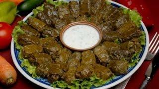 Азербайджанская кухня_Голубцы в виноградных листьях Долма