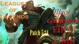 ILLAOI VS GNAR - SoloQ GOLD - Lux SKT T1 FAKAR XD
