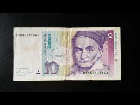 10 Zehn Deutsche Mark