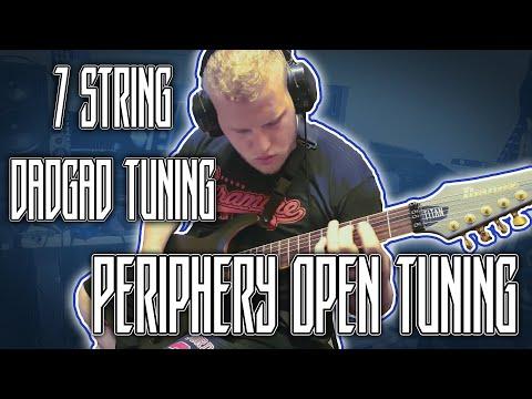 7 String DADGAD Tuning (Metal, Metalcore, Djent)