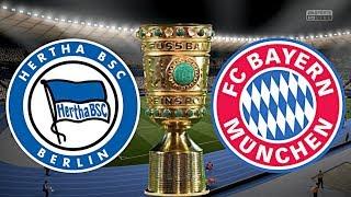 FC BAYERN MÜNCHEN vs. HERTHA BSC BERLIN   DFB POKAL ◄FCB #82►