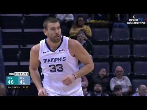Charlotte Bobcats vs Memphis Grizzlies NBA 2018-19 Highlights 1080P (2019-1-23)