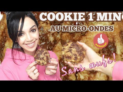 cookie-en-1-minute-recette-facile-sans-oeufs-et-au-micro-ondes!