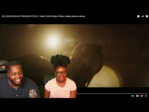 EDUCATION OF FREDERICK FITZELL STARING DYLAN O'BRIEN OFFICIAL MOVIE TRAILER REACTION!!! THRILLER!