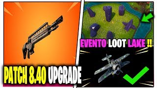 NEW PATCH UPDATE 8.40 FORTNITE FUCILE DE AEREI MODALITY FANTERIA
