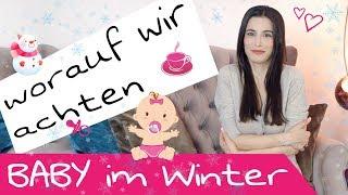 Mein Baby im Winter | Vitamin D, Heizstrahler und die richtige Mütze