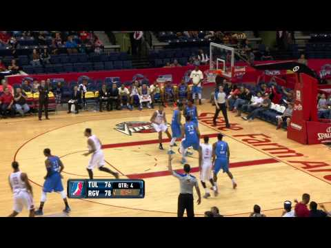 NBA D-League Highlights: Tulsa 66ers 94, Rio Grande Valley Vipers 104, 2013-3-26