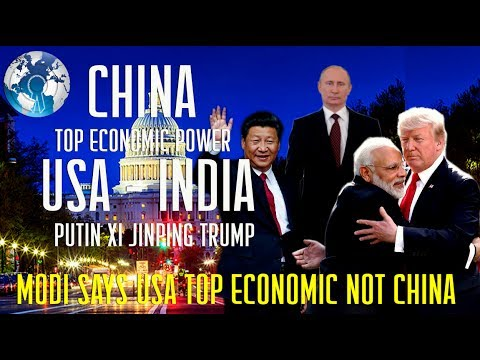 INDIA RUSSIA says USA is the Economic Power House not CHINA