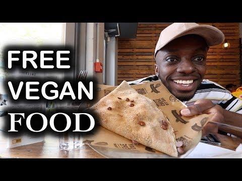FREE VEGAN FOOD | National Vegetarian Week