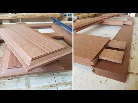 Making a Sapele Door