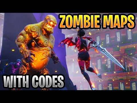 Best Fortnite Zombies Creative Mode Maps With Codes Youtube