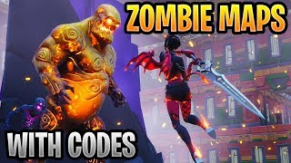 Best Fortnite Zombies Creative Mode Maps With Codes