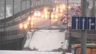 Авария на Октябрьском мосту в Череповце