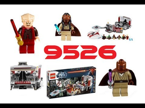 Lego Star Wars 9526 Palpatines Arrest Review (DEUTSCH/GERMAN)