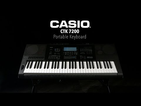 Casio CTK 7200 Portable Keyboard | Gear4music Demo