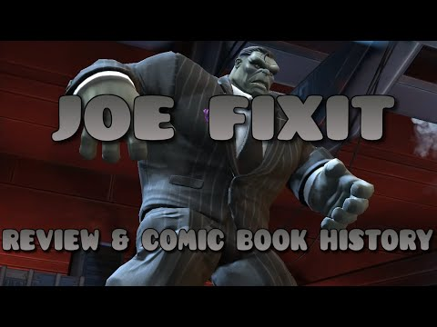 MARVEL CONTEST OF CHAMPIONS : JOE FIXIT REVIEW & COMIC BOOK HISTORY